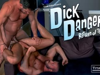 DICK DANGER 2:  Hunter Marx & Hans Berlin