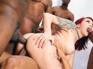 Blacks On Blondes - Amber Ivy