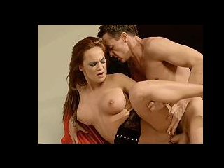 Beautiful redhead pornstar fucked hard
