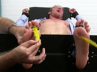 Shady Salesman Shawn Jerked Off and Tickled