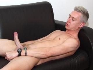Stroking With New Guy Jamie - Jamie Ford