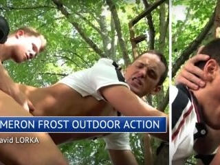 Horse-Hung Kameron Frost Outdoor Action