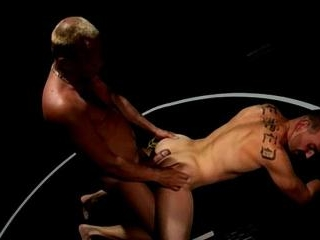 Tattooed Muscle Studs Wrestle, Fuck Ass