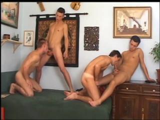 Straight Boy Sex Orgy