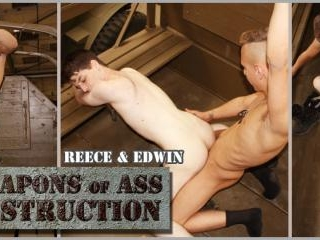 Weapons of Ass Destruction - Scene 2 - Reece and E