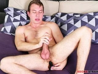 Miles Taylor Toys Up His Tight Ass