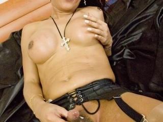 Big tits Italian Shemale