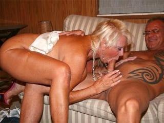Screwed busty granny
