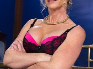 Simone Sonay is Mrs. S: ULTIMATE MILF Femdom!