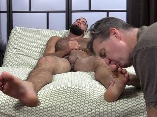 Ricky Larkin Shoots His Load As I Worship His Feet