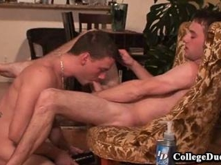 College Dudes - Cum eating with AJ and Kurt