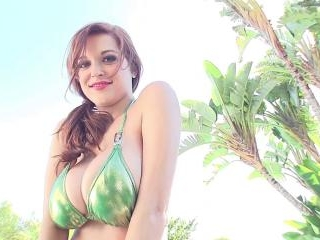 Tessa Fowler - Bikini Green 2