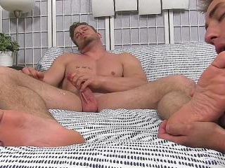 Ryan Sparks\' Foot Worshipped for the First Time