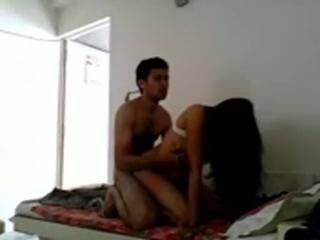 Indian college scandal tape of a hairy broad fucki
