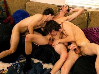 Marcus Turns Top In A Threesome! - Zack Randall, M