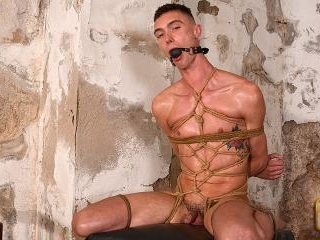 Tightly Bound & Displayed - Max London & Sebastian