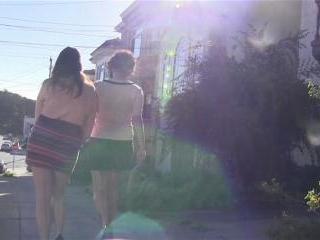 Arabelle Raphaelle and Sandy Bottoms hooking up