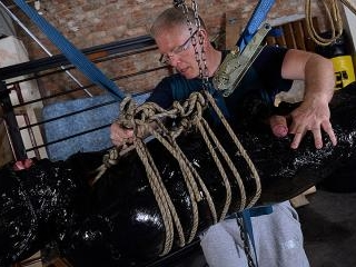 The Most Elaborate Handjob For Twink Slave Xavier!