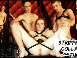 Stripped Collared and Fucked : Shaun, Luke and Jam