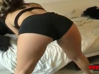 Young guy gets sucked and fucked hard by 2 hot slu