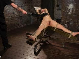 Super Slut is Subjected to Brutal Torment and Bond