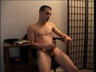 Straight Boy Casey Stroking