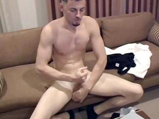 Uncut Cock Stroke With Gavin Jarrett - Gavin Jarre