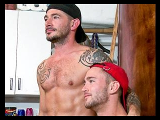 Colt Rivers & Johnny Hazzard - Backstage