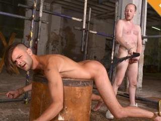 Slammed By Big Bare Cock - Dante Lucas & Sean Tayl