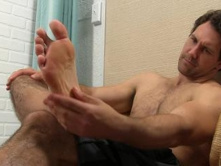Jet\'s Sweaty Socks and Bare Feet