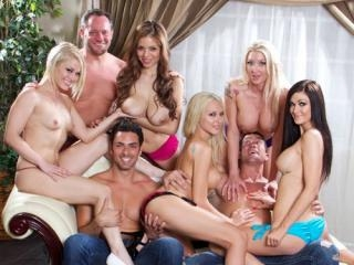 Katie Summers - Private Orgy Party
