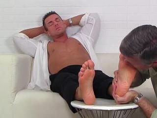 I Worship Braden Charron\'s Dress Socks and Feet -