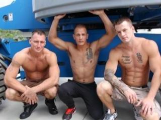 Chase, Craig Cameron & Quentin Gainz