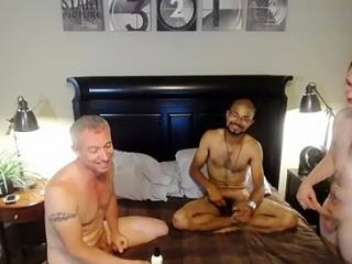 Hot boy is jerking off in the apartment and filmin