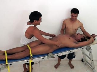 Derick Racked And Tickled