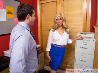 Naughty Office - Gemma Jolie & Preston Parker