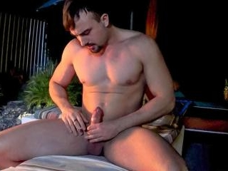 Big Guy Mason Smoking In The Garden - Mason Lear
