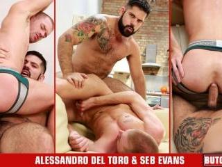 Alessandro Del Torro, Seb Evans