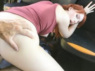 Hairy Redhead Pussy Cum Splattered