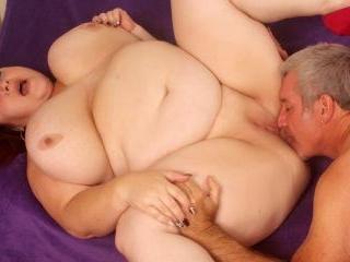 Big boobed BBW Lady Lynn takes fat cock