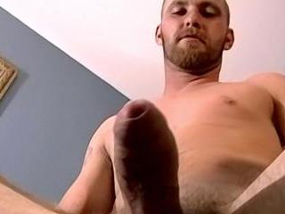 Slippery Uncut Cock Unloads - Matt