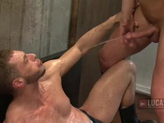 Tate Ryder Takes Alessandro Master\'s Fist Up His A