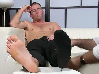 Scott Has A New Foot Slave - Scott
