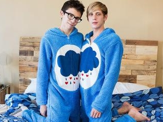 Cute Onesie Boys Get Very Dirty!