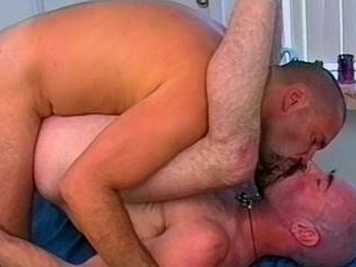 Bald Daddy Bears Gets Fucked Hard