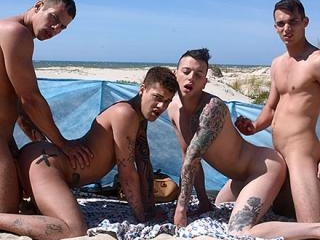 One fucking hot foursome - Mickey Taylor, Orlando
