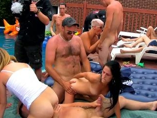Quebec's Biggest Orgy