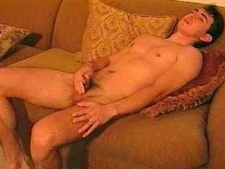 Eric Strokes His Cock On The Sofa - Eric Esteves