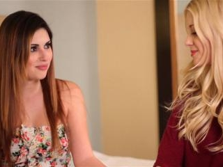 Charlotte Stokely and Natasha Malkova intense