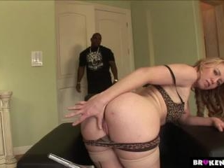 BrokenTeens - Big Black Cock Can Barely Fit